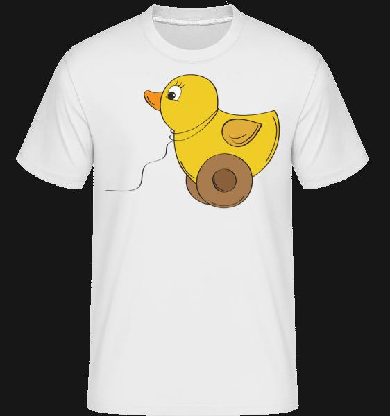Detská Comic - Duck -  Shirtinator tričko pre pánov - Biela - Predné