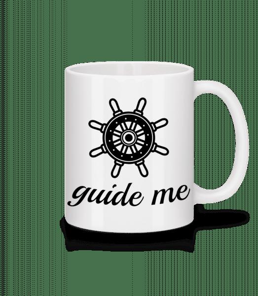 Guide Me - Tasse - Weiß - Vorn