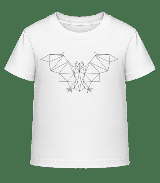 Polygon Bat - Kid's Shirtinator T-Shirt - White - Vorn