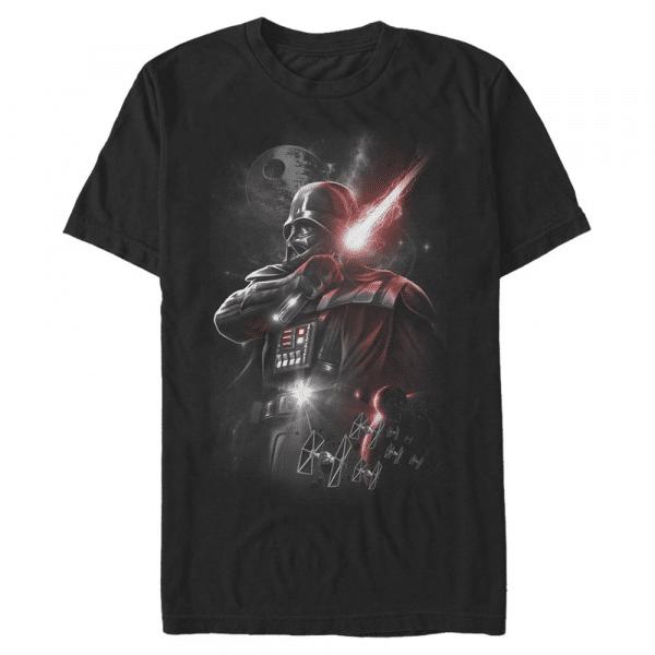 Dark Lord Starfighter - Star Wars Rogue One - Men's T-Shirt - Black - Front