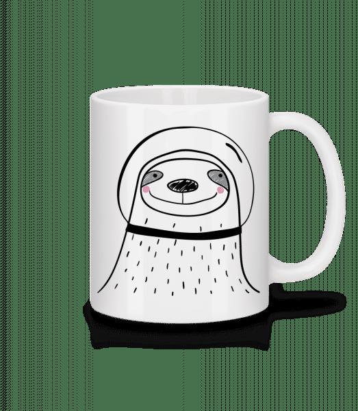 Space Faultier - Mug - White - Vorn