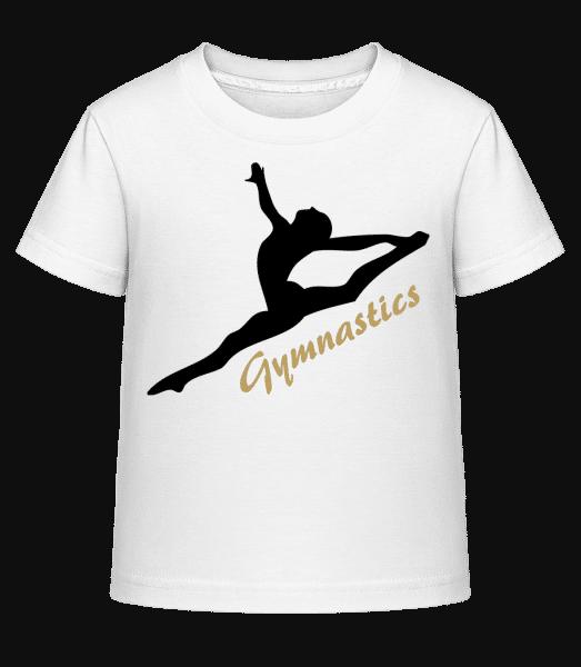 Split Jump Black - Kid's Shirtinator T-Shirt - White - Vorn