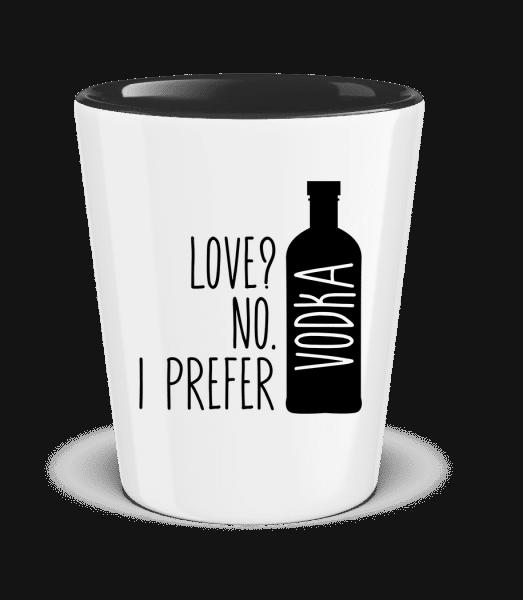 I Prefer Vodka - Two-Toned Shot Glass - White - Vorn