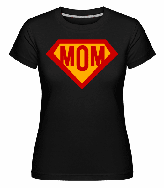 Mom Superhero -  Shirtinator Women's T-Shirt - Black - Vorn