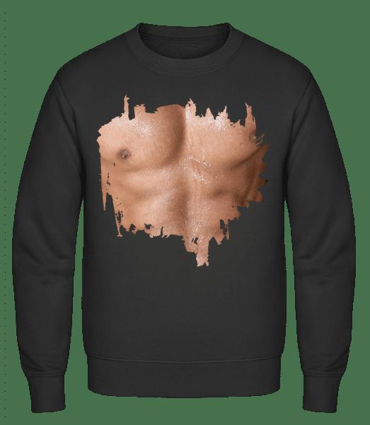 Muscle Body Man - Classic Set-In Sweatshirt - Black - Vorn