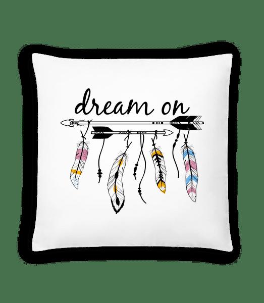 Dream On - Cushion - White - Vorn