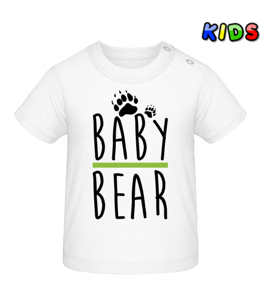 Baby Bear - Baby T-Shirt - White - Vorn