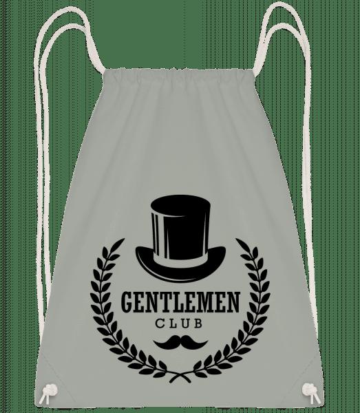 Gentlemen Club - Drawstring Backpack - Anthracite - Vorn