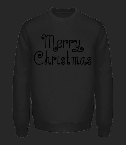 Merry Christmas - Unisex Sweatshirt - Black - Vorn