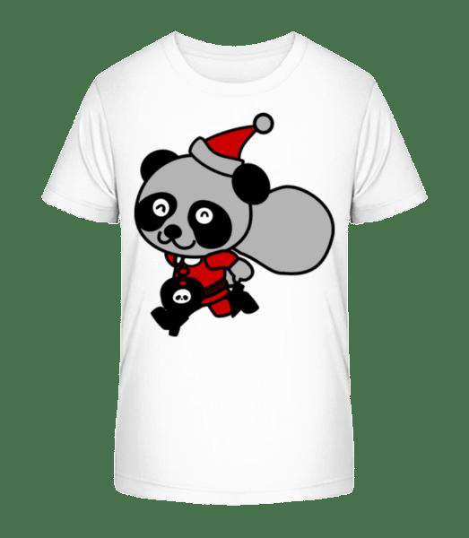 Christmas Bear - Kid's Premium Bio T-Shirt - White - Vorn