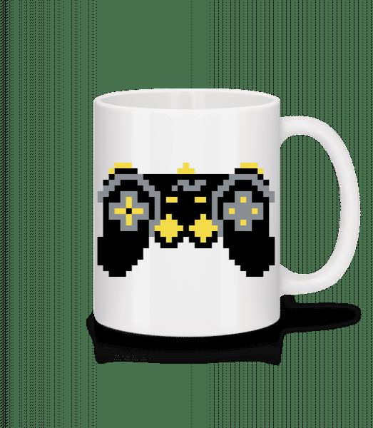 Consoles Controller Oldschool - Mug - White - Vorn