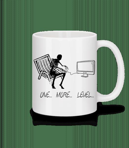 One More Level - Tasse - Weiß - Vorn