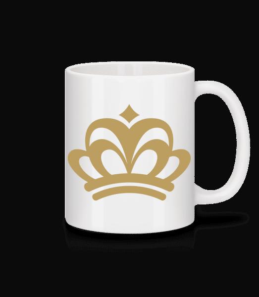Crown Sign - Mug - White - Vorn