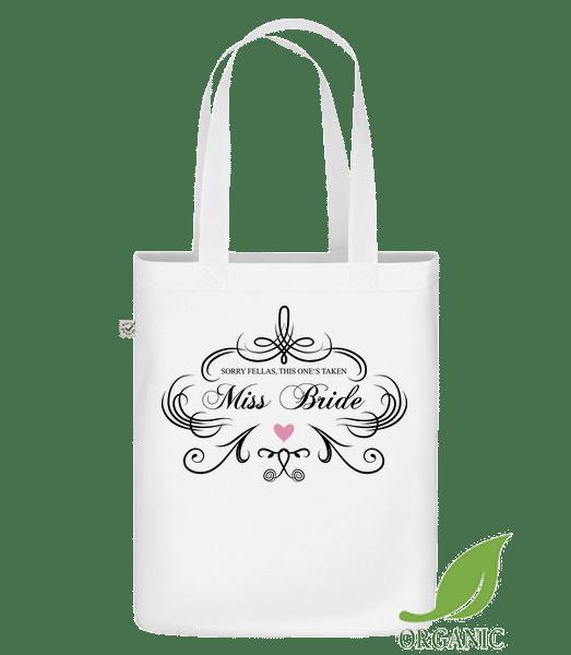 """slečna Bride - Organická taška """"Earth Positive"""" - Bílá - Napřed"""
