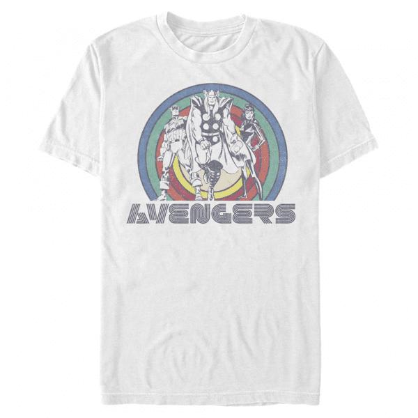 Avengers - Marvel - Men's T-Shirt - White - Front