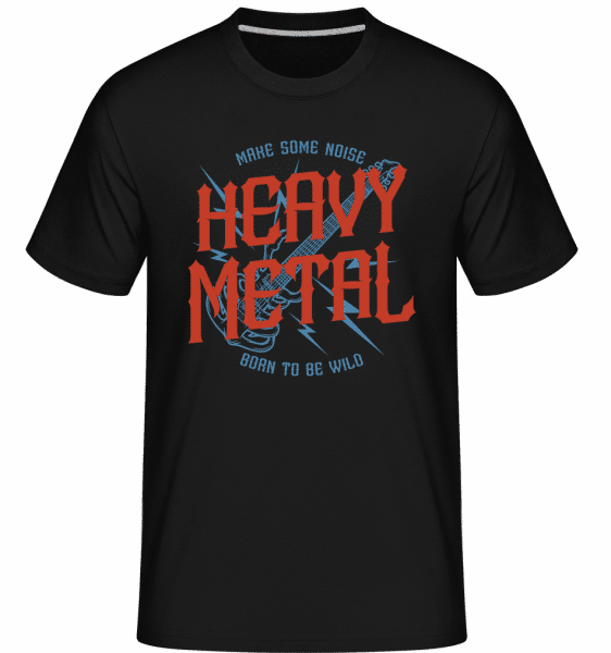 Heavy Metal -  Shirtinator Men's T-Shirt - Black - Front