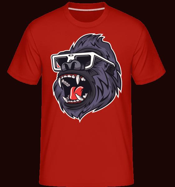 Gorilla -  Shirtinator Men's T-Shirt - Red - Vorn