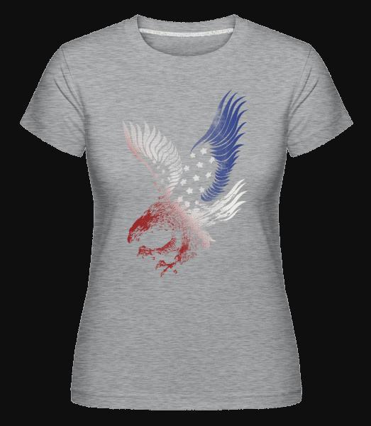 American Eagle -  Shirtinator Women's T-Shirt - Heather grey - Vorn