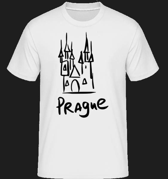 Prague s´Sign -  Shirtinator Men's T-Shirt - White - Vorn