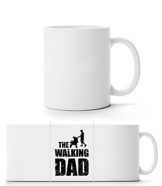 The Walking Dad - Panorama Mug - White - Front