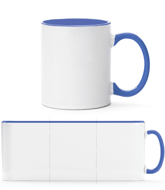 Two-toned Mug - White - Vorn