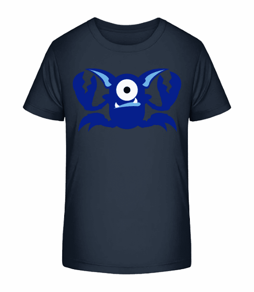 Monstres De Crabe - T-shirt bio Premium Enfant - Bleu marine - Devant