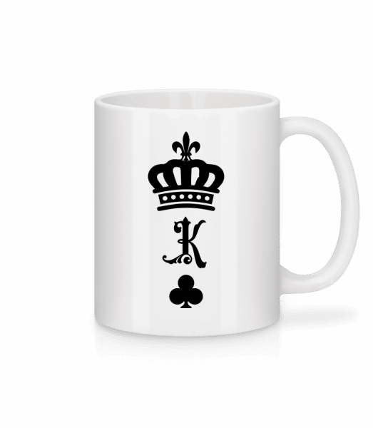King Crown - Mug - White - Vorn