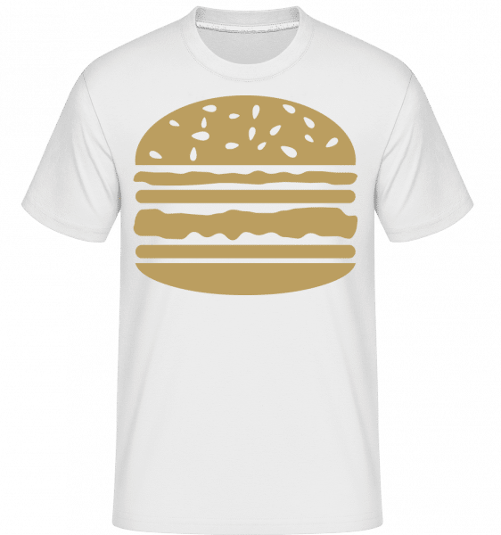 Served Burger -  Shirtinator Men's T-Shirt - White - Vorn