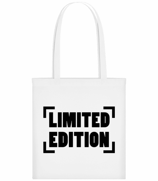 Limited Edition Logo - Carrier Bag - White - Vorn