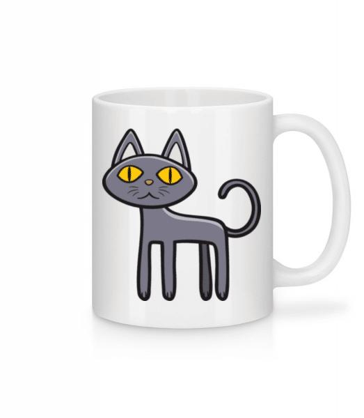 Spooky Cat - Mug - White - Front
