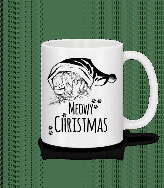 Meowy Christmas - Mug - White - Vorn