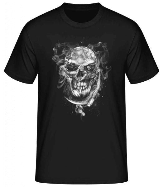 Skull - Men's Basic T-Shirt - Black - Front