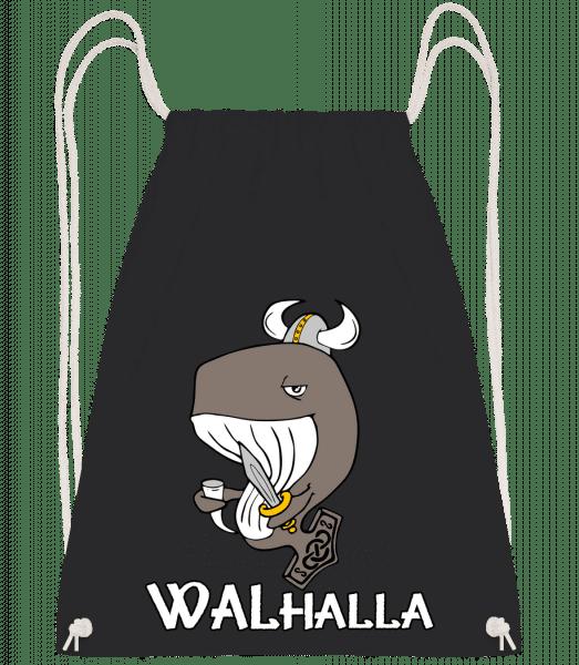 Walhalla - Turnbeutel - Schwarz - Vorn