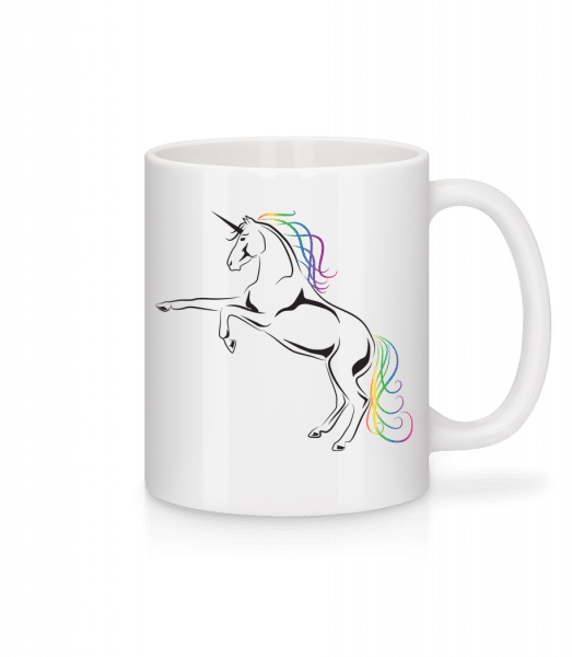 Unicorn - Mug - White - Vorn