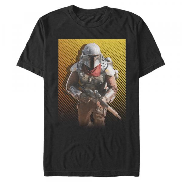 Solo Marshal The Marshal - Star Wars Mandalorian - Men's T-Shirt - Black - Front
