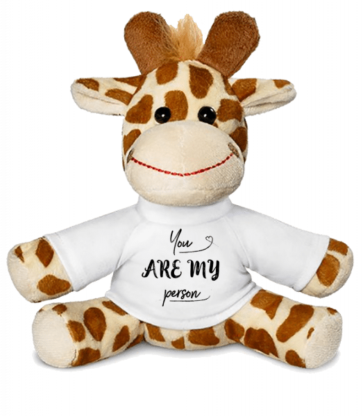 You Are My Person - Girafe - Blanc - Vorn