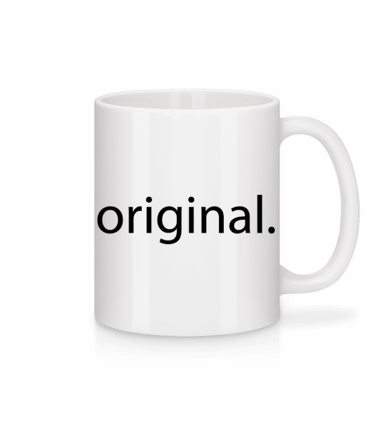 Original - Mug en céramique blanc - Blanc - Devant