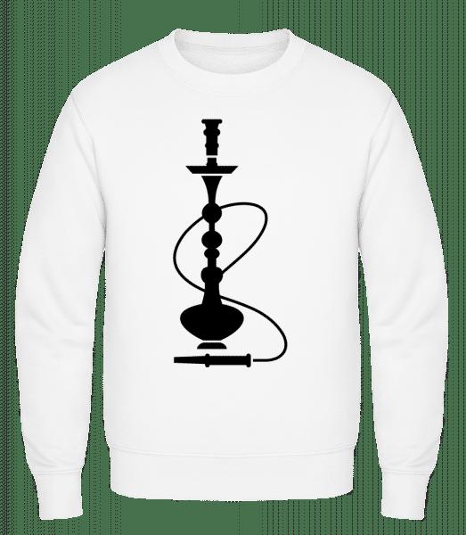 Shisha - Classic Set-In Sweatshirt - White - Vorn