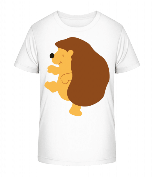 Enfant Comic - Hérisson - T-shirt bio Premium Enfant - Blanc - Vorn