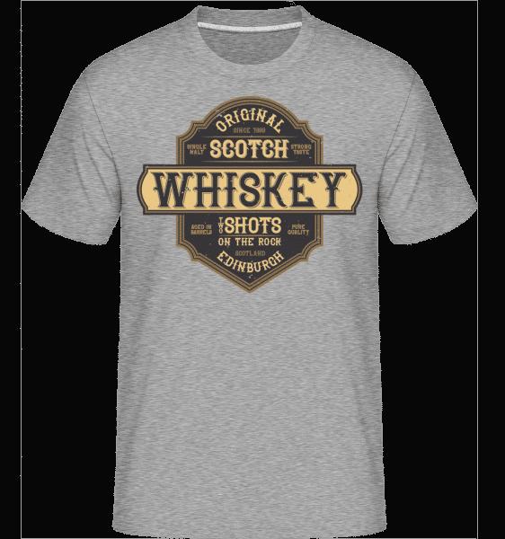 Original Scotch Whiskey -  Shirtinator Men's T-Shirt - Heather grey - Vorn