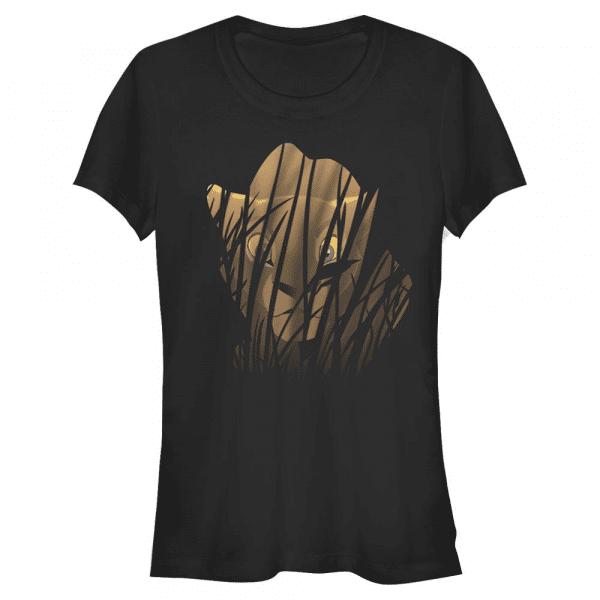 Huntress Nala - Disney The Lion King - Women's T-Shirt - Black - Front