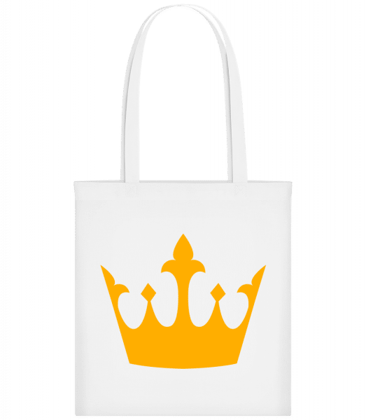 Queen's Crown Yellow - Sac tote - Blanc - Vorn