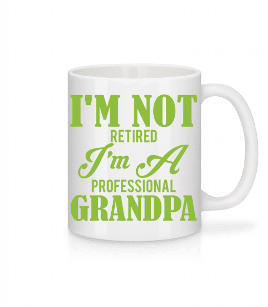 I'm Not Retired - Mug - White - Vorn