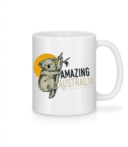 Koala Amazing Australia - Mug - White - Front