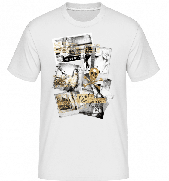 Golden Lifestyle -  Shirtinator Men's T-Shirt - White - Vorn