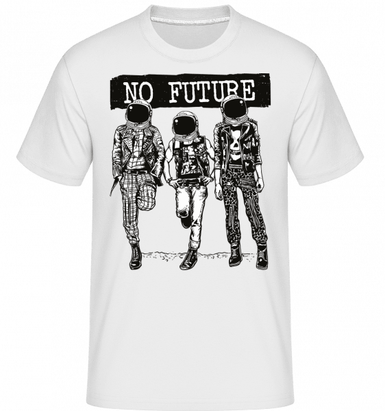 No Future -  Shirtinator Men's T-Shirt - White - Front