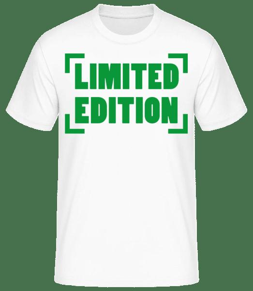 Limited Edition - Basic T-Shirt - Weiß - Vorn