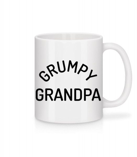 Grumpy Grandpa - Mug - White - Front