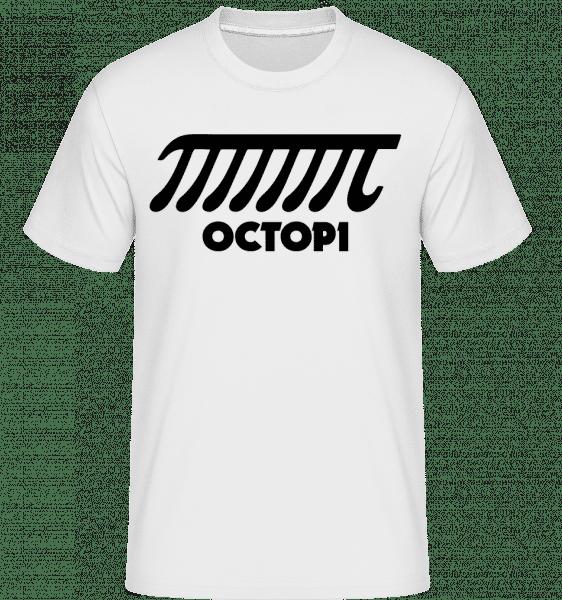 Octopi -  T-Shirt Shirtinator homme - Blanc - Devant