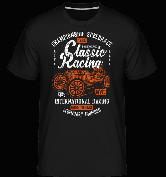 Classic Racing -  Shirtinator Men's T-Shirt - Black - Vorn